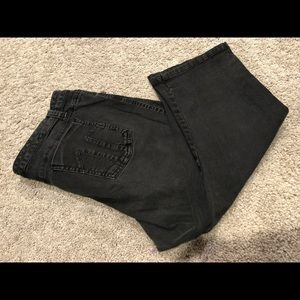 Size 16 black capris from Torrid